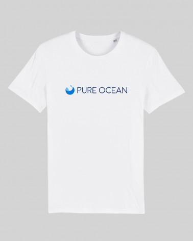 T-shirt blanc - Pure Ocean - face recto