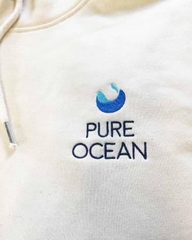 Sweat-shirt - Pure Ocean - zoom logo